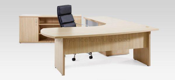 Zanzibar Range Executive Desk from My Office Furniture