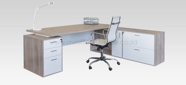 Nevada Range Executive Desk from My Office Furniture