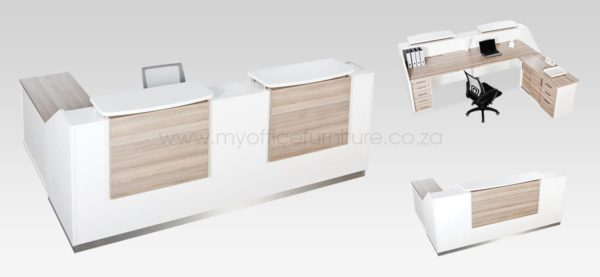 Euro Reception Desk from My Office Furniture