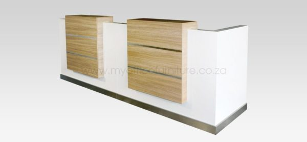 Niagra Reception Desk from My Office Furniture