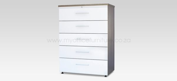 Top Retrieval Cabinet -5 Drawer from My Office Furniture
