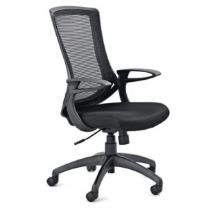 Noir Operator Office Chair from My Office Furniture